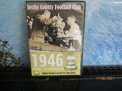£12.99 • Buy RARE DVD Derby County Football Club 1946 KINGS OF WEMBLEY FA CUP GLORY FREE POST