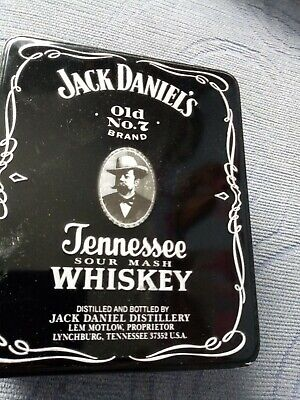 £4.90 • Buy JACK DANIELS COLLECTABLE TIN -with One Shot Glass. No Whiskey