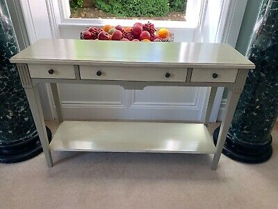 £51 • Buy Stunning French Grange Furniture Hall Console Table With Drawers