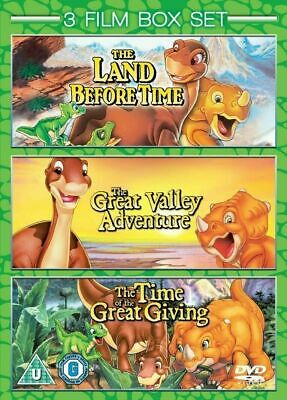 £4.98 • Buy The Land Before Time 3 Film Collection [DVD] *New & Factory Sealed*