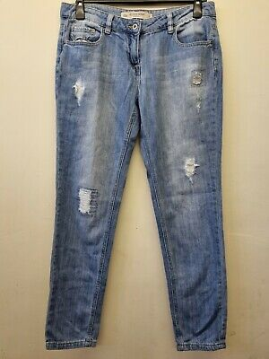 £4.20 • Buy Ladies NEXT Relaxed Skinny Jeans. Size 12. Ripped. GREAT Condition.