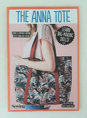 £3 • Buy Simply Sewing Anna Tote Bag Sewing Pattern New Uncut