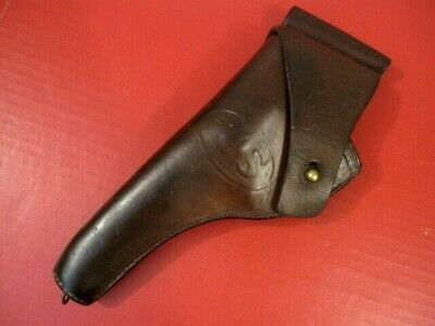 $179.99 • Buy WWI Era US Army M1909 Leather Holster For M1917 .45 Revolver - G&K 1918 - NICE