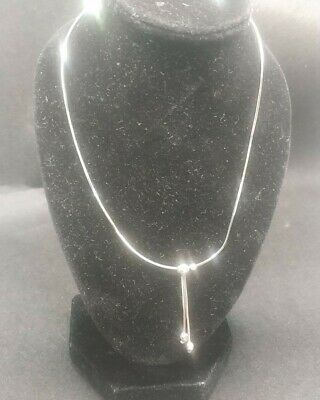 £12.50 • Buy Italian 9ct 375 White Gold Chain Necklace