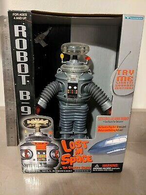 $ CDN137.88 • Buy LOST IN SPACE Rodney Robot B-9 Figure Collector's Edition 1998 Vintage NEW.