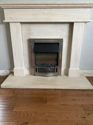£72 • Buy Dimplex Electric Fire With Limestone Surround