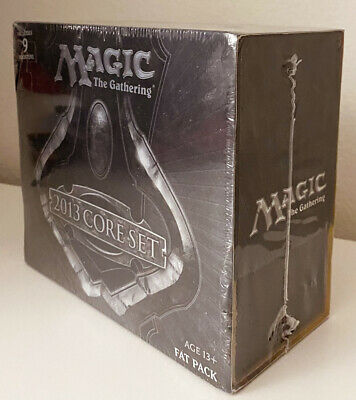 $75 • Buy 1x MTG Magic 2013 Core M13 Fat Pack BOX (9 Boosters) English NEW/Factory Sealed