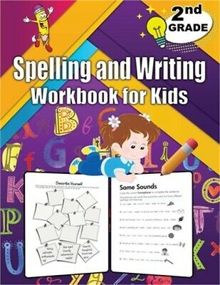 $ CDN13.50 • Buy Spelling And Writing For Grade 2: Spell & Write Educational Workbook For 2nd Gra