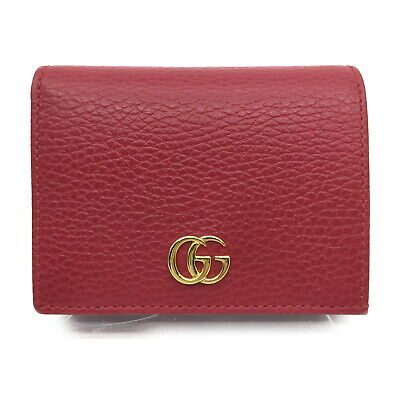 AU62.80 • Buy Gucci Wallet  Reds Leather 1720191