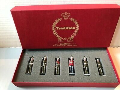 £70 • Buy Tradition Soldiers GR1 The Governor's Guard The Gibralter Regiment Box A.