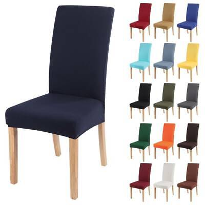 £3.12 • Buy Universal Stretch Elastic Dining Chair Covers Slipcover Party Home Seat Cover UK