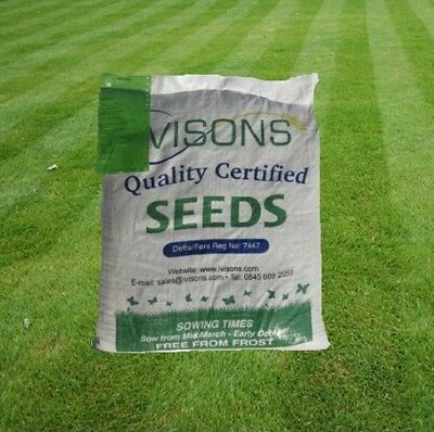 £21.99 • Buy 5 KG Ivisons Quick Rapid Super Fast Germinating Grass Seed Mixture