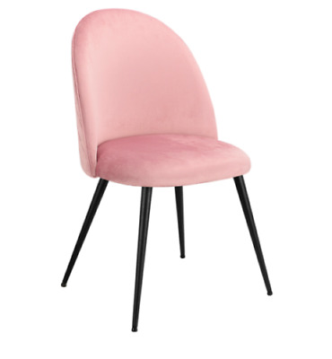 AU299 • Buy Dining Chairs Seat French Provincial Kitchen Lounge Chair Pink