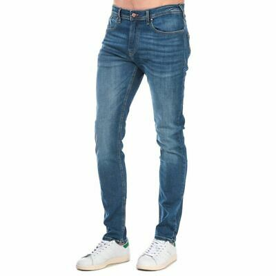 £23.94 • Buy Men's Duck And Cover Overbug Zip Fly Tapered Jeans In Blue