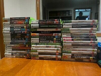 AU7.95 • Buy XBOX 360 Game Bundle FREE Postage, Complete PREOWNED GOOD CONDITION AS IS