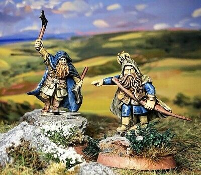 £21 • Buy Lord Of The Rings Warhammer: Dwarf Ranger Army Captains: 28mm ProPainted