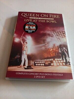 £4.75 • Buy Queen: On Fire - Live At The Bowl DVD (2004) Freddie Mercury