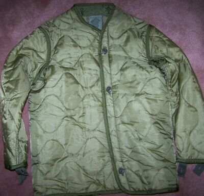 $7 • Buy M65 Field Jacket Liner, Od Green, X-small, U.s. Issue *nice*