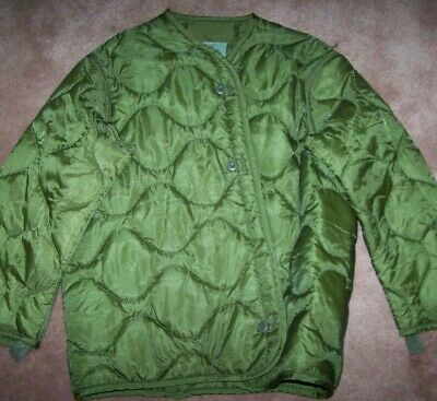 $7 • Buy M65 Field Jacket Liner, Od Green, Small, U.s. Issue *nice* #3