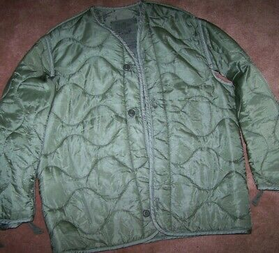 $7 • Buy M65 Field Jacket Liner, Foliage Green, Small, U.s. Issue *nice* #5