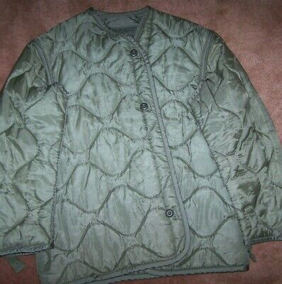 $7 • Buy M65 Field Jacket Liner, Foliage Green, Small, U.s. Issue *nice* #9