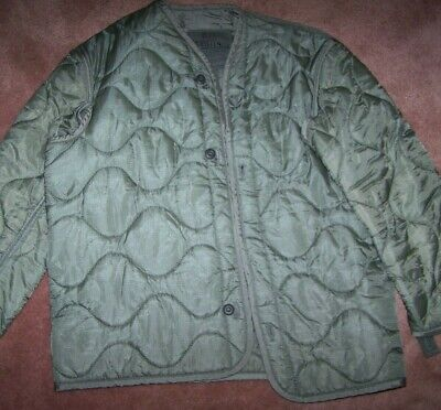 $7 • Buy M65 Field Jacket Liner, Foliage Green, Small, U.s. Issue *nice* #10