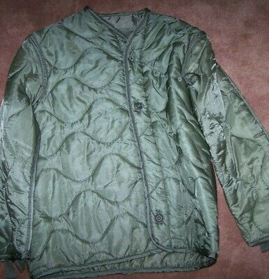 $7 • Buy M65 Field Jacket Liner, Foliage Green, Small, U.s. Issue *nice* #6