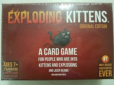 AU13.35 • Buy Sealed Exploding Kittens Card Game JBH