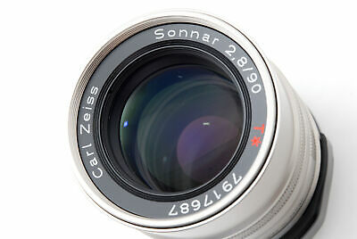 $ CDN249 • Buy [Top MINT] Contax Carl Zeiss SONNAR T* 90mm F2.8 Lens For G1 G2 From JAPAN #50