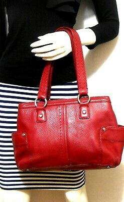 AU69 • Buy Oroton Red Leather Tote Bag, Roomy