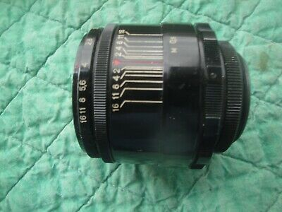 $1.37 • Buy Helios 44 58mm F2 M39 Mount, In EXCELLENT Condition 0320335