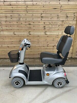 £299 • Buy Mid Size Silver Ctm Hs585 6mph Mid Size Mobility Scooter With Lights Indicators