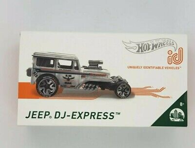 $9.99 • Buy Hot Wheels Jeep DJ-Express Mail Truck ID Car Limited Run Collectible New In Pack