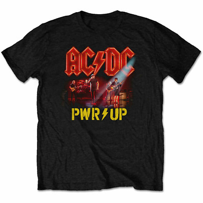 $15.95 • Buy AC/DC T Shirt PWR UP Power Up Neon Live Officially Licensed Mens Classic Rock