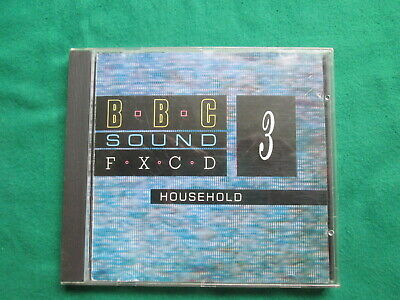 £11.99 • Buy Bbc Sound Effects 3 - Household - Cd