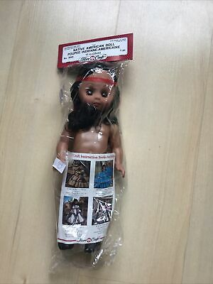 £7.95 • Buy FIBRE CRAFT DOLL - NATIVE AMERICAN DOLL POUPEE INDIENNE-AMERICAINEN- No3045 New