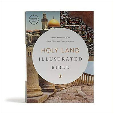 £31.20 • Buy CSB Holy Land Illustrated Bible, Hardcover - 9781535997928