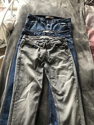 £8 • Buy 3 Pairs, Next, Relaxed Skinny Jeans. Size 14