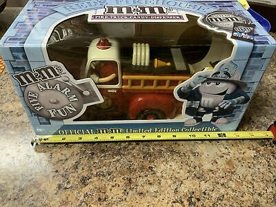 $20 • Buy M&Ms Candy Dispenser Red's Firehouse Fire Truck Limited Edition
