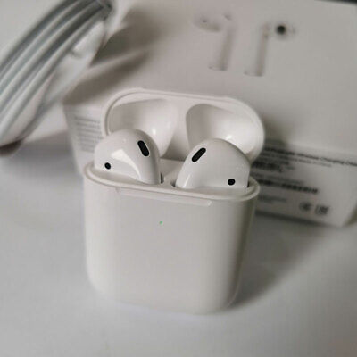 AU45.79 • Buy Apple AirPods (Second Generation) Headset With A Wireless Charging Box AU Stock