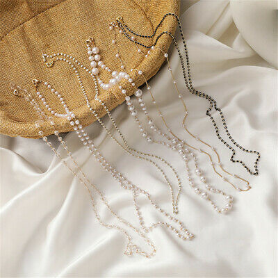 AU2.72 • Buy Acrylic Beaded Chain Face Mask Lanyards Neck Straps Reading Glasses Chain