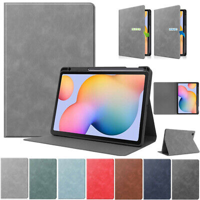AU20.49 • Buy For Samsung Galaxy Tab S6 Lite 10.4 SM-P610 Folio Leather Smart Stand Case Cover