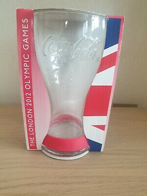 £1.99 • Buy The London 2012 Olympic Games Coca Cola Glass - New