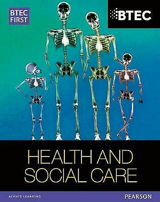 £2 • Buy BTEC First In Health And Social Care Student Book By Penelope Garnham,...
