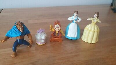 £6.99 • Buy McDonald's Disney Happy Meal Toys Vintage Beauty And The Beast Set 1992