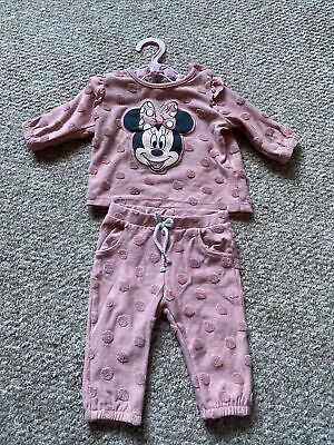 £4 • Buy Baby Girl Newborn Minnie Mouse Top And Trousers