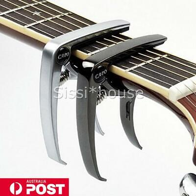 AU8.99 • Buy Quick Change Capo For Acoustic And Electric Guitar A