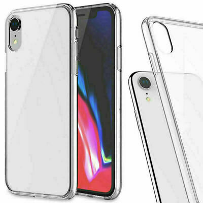 AU2.97 • Buy TPU Clear Shockproof Case Soft Cover For Phone 12 11 Pro XS MAX X 6 6S 7 8 Plus