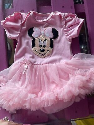£8 • Buy Minnie Mouse Baby 3-6months