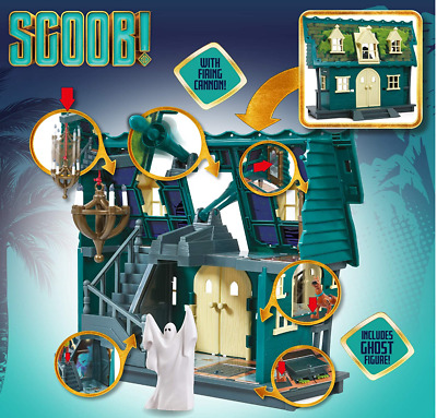 £29.95 • Buy Scoob! Scooby Doo Haunted Mansion Playset With Ghost Figure NEW + FREE 24H DEL